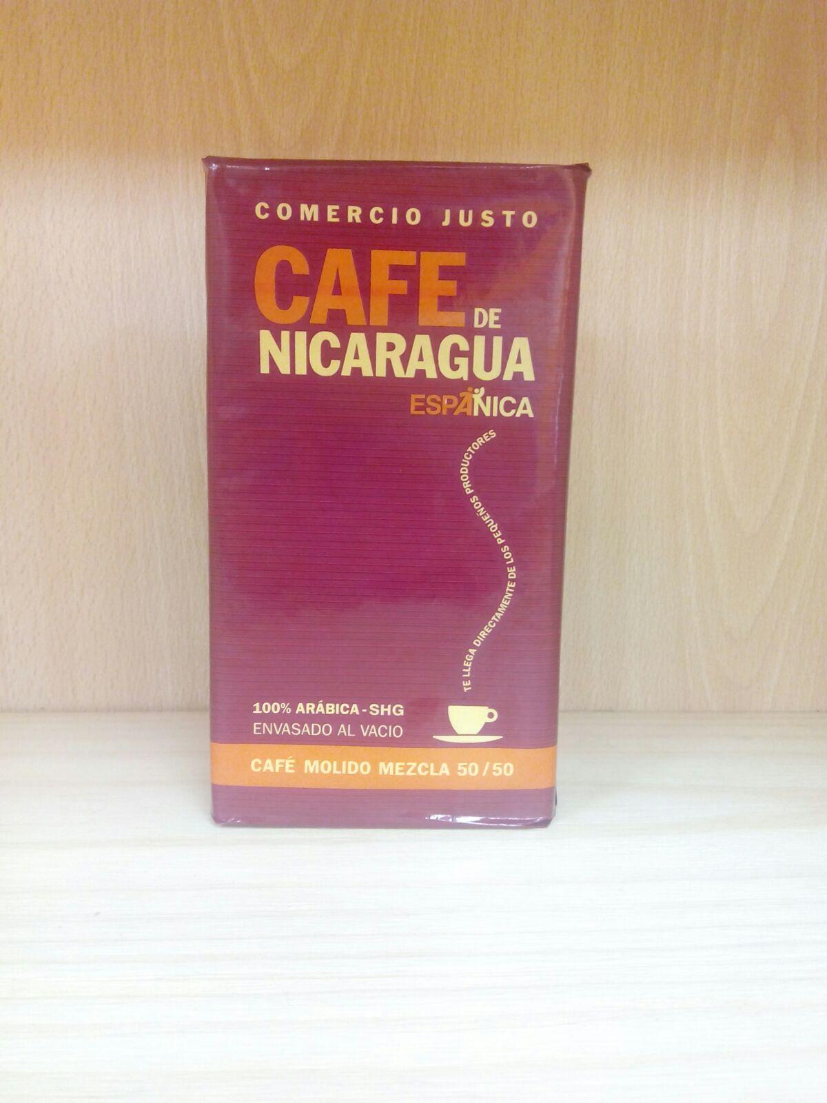café mezcla de comercio justo