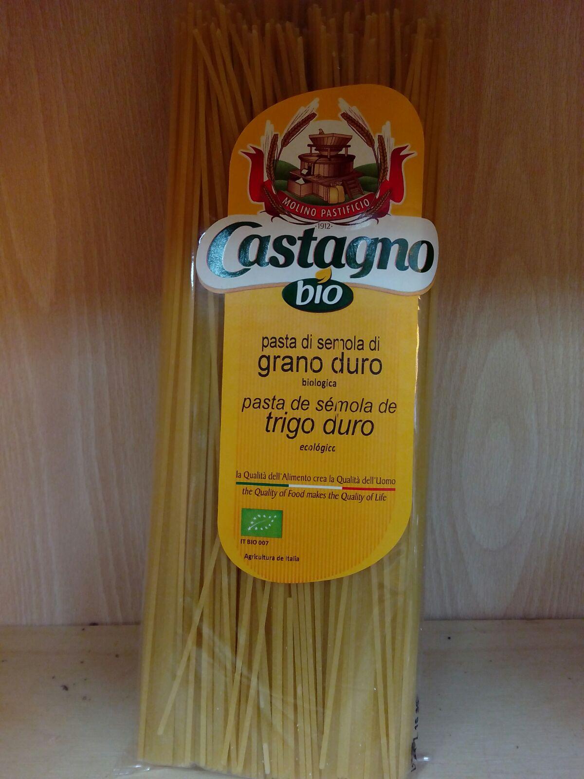 espaguetis ecológicos producidos en Italia