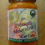 mermelada de melocotón ecológica producida en Cataluña