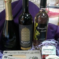Cesta regalo elaborada con productos ecologicos. Biolibere