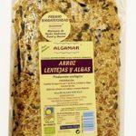 arroz lentjas y algas