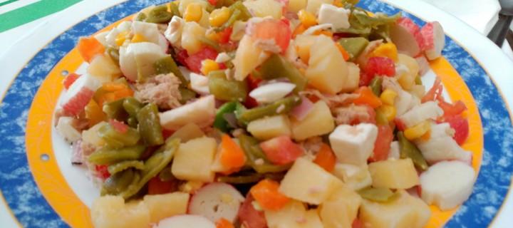 Ensalada fresca con verduras