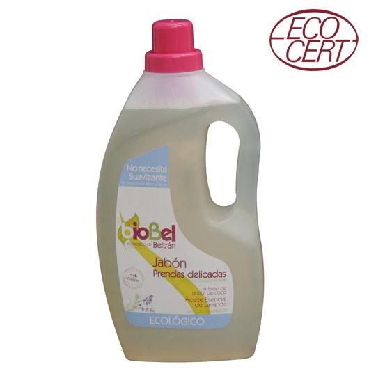 Detergente líquido ecológico. No necesita suavizante.Bebés y pieles sensibles