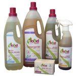 Detergente líquido ecológico. No necesita suavizante.Prendas delicadas