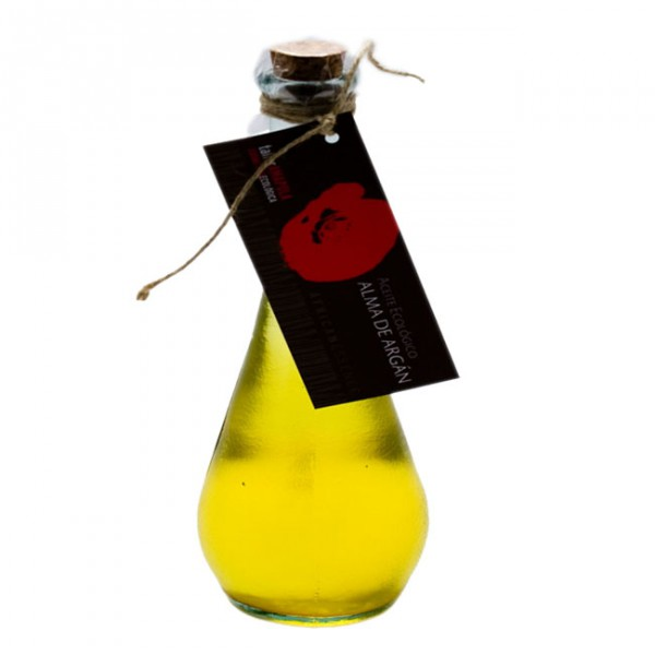 El ajo y el aceite vegetal para los cabellos