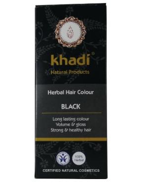 Este tinte de Khadi tiñe el pelo negro. El color final se verá influenciado por el color original de tu cabello así como el tiempo de permanencia. Da cuerpo y brillo al cabello.