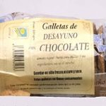 galletas deayuno con chocolate